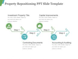 Property Repositioning Ppt Slide Template