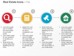 Property Search Calculation Financial Stability Ppt Icons Graphics