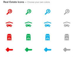 Property Search Key Car Parking Ppt Icons Graphics