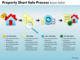 Property Short Sale Process Buyer Seller Powerpoint Slides And Ppt Templates DB