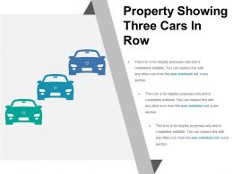 Property Showing Three Cars In Row