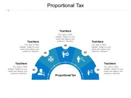 Proportional Tax Ppt Powerpoint Presentation Inspiration Images Cpb