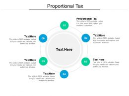 Proportional Tax Ppt Powerpoint Presentation Model Inspiration Cpb