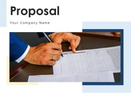 Proposal Analyst Information Business Executive Documents Acceptance