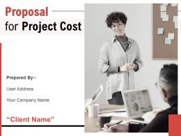Proposal For Project Cost Powerpoint Presentation Slides
