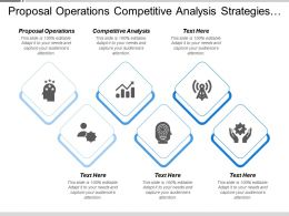 Proposal Operations Competitive Analysis Strategies Themes Role And Responsibilities