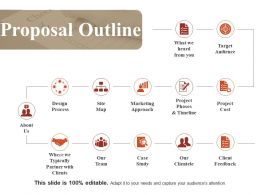 Proposal Outline Powerpoint Slide Information