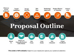 Proposal Outline Ppt Design