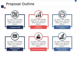 Proposal Outline Ppt Pictures Demonstration