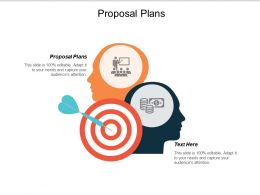 Proposal Plans Ppt Powerpoint Presentation Gallery Pictures Cpb