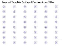 Proposal Template For Payroll Services Icons Slides L1219 Ppt Slides