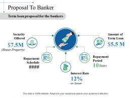 Proposal To Banker Ppt Sample File