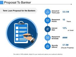 Proposal To Banker Ppt Templates