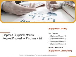 Proposed Equipment Models Request Proposal For Purchase Planning Ppt Powerpoint Presentation Show