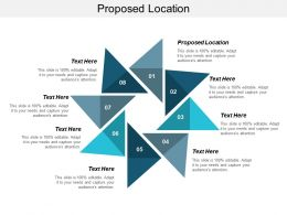 Proposed Location Ppt Powerpoint Presentation Icon Design Templates Cpb