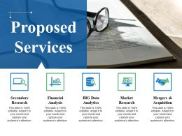 Proposed Services Powerpoint Slide Design Ideas