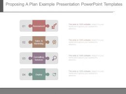 Proposing A Plan Example Presentation Powerpoint Templates