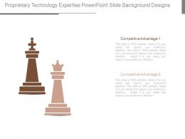 Proprietary Technology Expertise Powerpoint Slide Background Designs