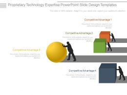 Proprietary Technology Expertise Powerpoint Slide Design Templates