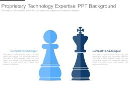 Proprietary Technology Expertise Ppt Background