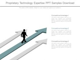 Proprietary Technology Expertise Ppt Samples Download