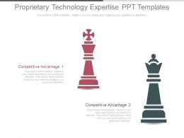 Proprietary Technology Expertise Ppt Templates