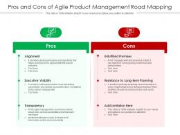 Pros And Cons Of Agile Product Management Road Mapping