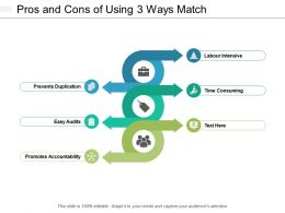 Pros And Cons Of Using 3 Ways Match