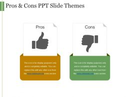 Pros And Cons Ppt Slide Themes