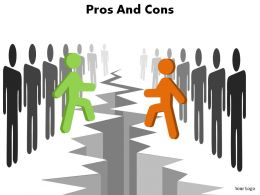pros and cons ppt slides presentation diagrams templates powerpoint info graphics
