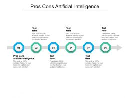 Pros Cons Artificial Intelligence Ppt Powerpoint Presentation Slides Deck Cpb
