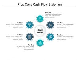 Pros Cons Cash Flow Statement Ppt Powerpoint Presentation File Grid Cpb