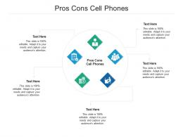 Pros Cons Cell Phones Ppt Powerpoint Presentation Icon Example Cpb