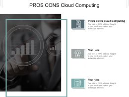 Pros Cons Cloud Computing Ppt Powerpoint Presentation Graphics Cpb