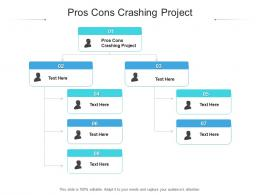 Pros Cons Crashing Project Ppt Powerpoint Presentation Gallery Topics Cpb
