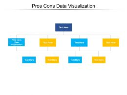 Pros Cons Data Visualization Ppt Powerpoint Presentation Summary Graphics Cpb
