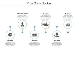 Pros Cons Docker Ppt Powerpoint Presentation Icon Background Image Cpb