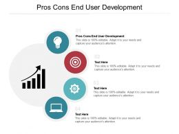 Pros Cons End User Development Ppt Powerpoint Presentation Slides Example Cpb