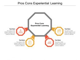 Pros Cons Experiential Learning Ppt Powerpoint Presentation Gallery Slide Download Cpb