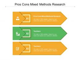 Pros Cons Mixed Methods Research Ppt Powerpoint Presentation Inspiration Slideshow Cpb