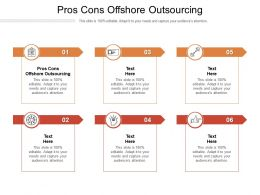 Pros Cons Offshore Outsourcing Ppt Powerpoint Presentation Gallery Designs Cpb
