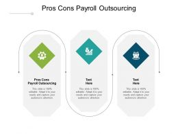 Pros Cons Payroll Outsourcing Ppt Powerpoint Presentation Portfolio Show Cpb