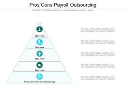 Pros Cons Payroll Outsourcing Ppt Powerpoint Presentation Slides Aids Cpb