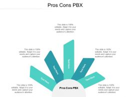 Pros Cons PBX Ppt Powerpoint Presentation Pictures Graphics Download Cpb