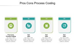 Pros Cons Process Costing Ppt Powerpoint Presentation Show Designs Download Cpb
