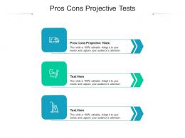 Pros Cons Projective Tests Ppt Powerpoint Presentation Summary Picture Cpb