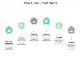 Pros Cons Smart Cards Ppt Powerpoint Presentation Model Sample Cpb