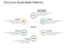 Pros Cons Social Media Platforms Ppt Powerpoint Presentation Layouts Themes Cpb