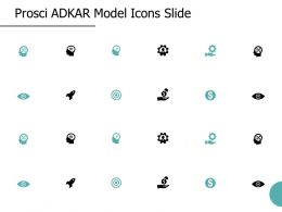 Prosci ADKAR Model Icons Slide Technology A25 Ppt Powerpoint Presentation