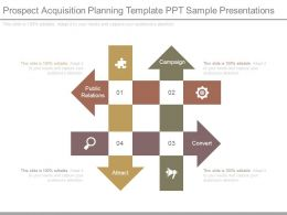 Prospect Acquisition Planning Template Ppt Sample Presentations